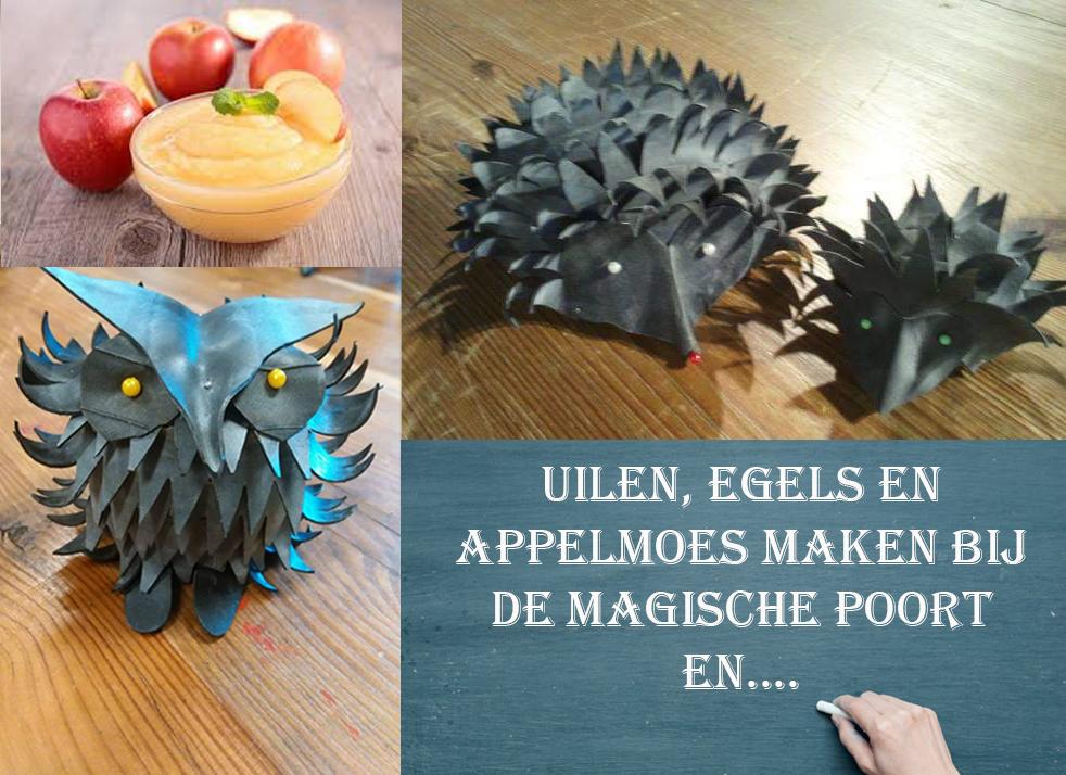 creatieve en kunstzinnige herfstdag bij de Magische Poort