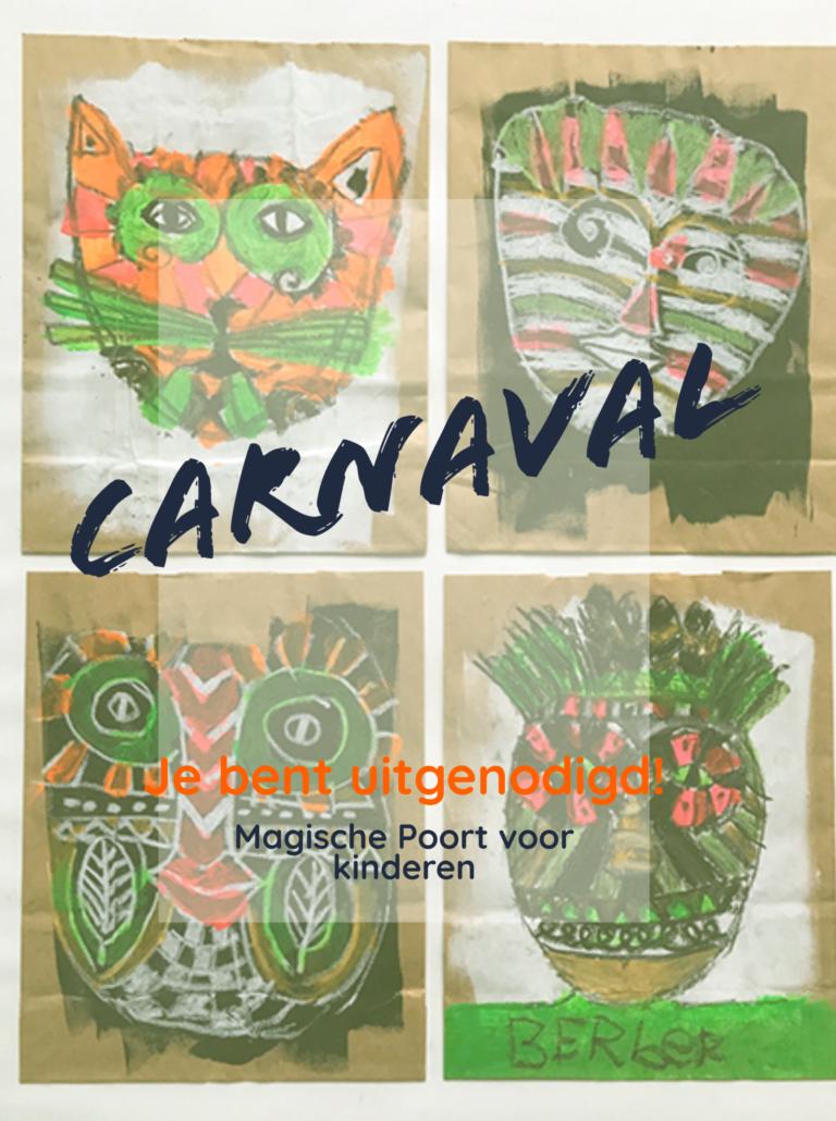 Carnavalsdag bij de Magische Poort