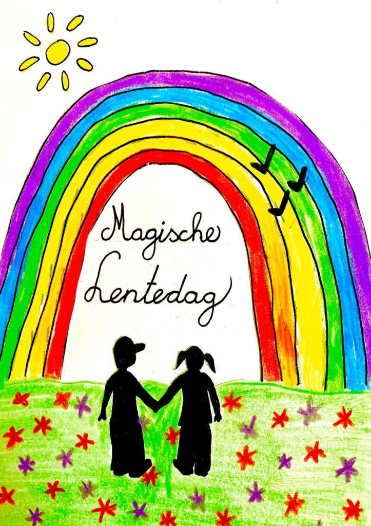 magische lentedag bij de magische Poort